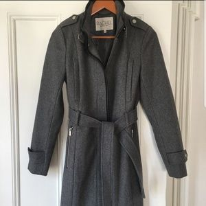Rachel Rachel Roy Grey Wool Blend Coat